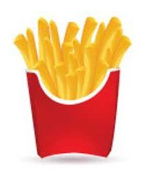 animated french fry image
