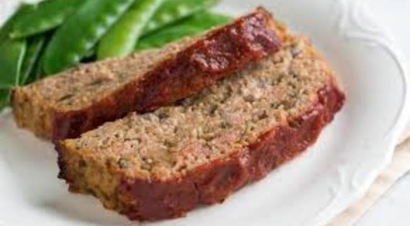 Daves Famous Turkey Meatloaf On A Plate