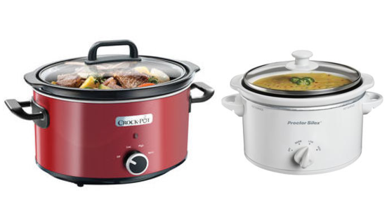 Two Crock Pots Side By Side
