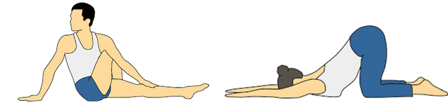 Illistrated Stretches