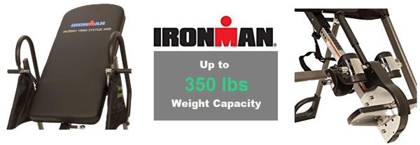 Ironman Gravity 3000 Inversion Table Features