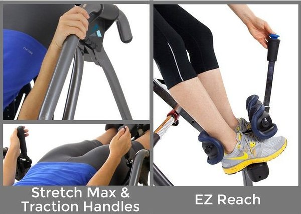 Teeter hang Ups Ep 970 LTD Inversion Table Features
