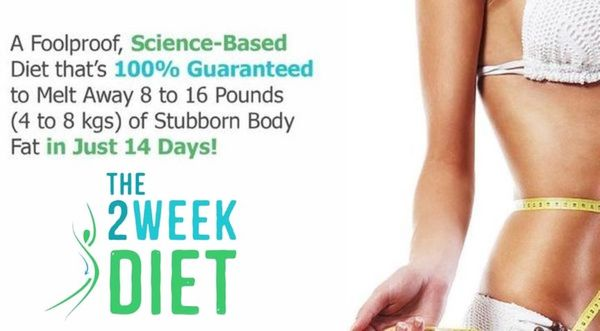 2 Week Diet Article Image