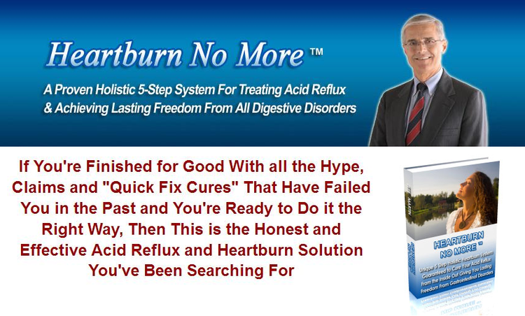 Heartburn No More Ebook Review
