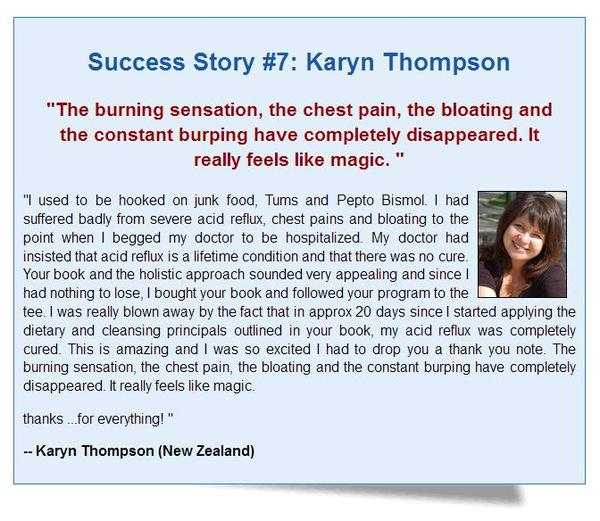 Heartburn No More Success Story Number Seven