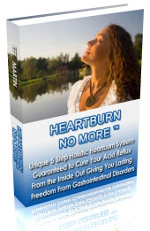 Heartburn No More Book Cover