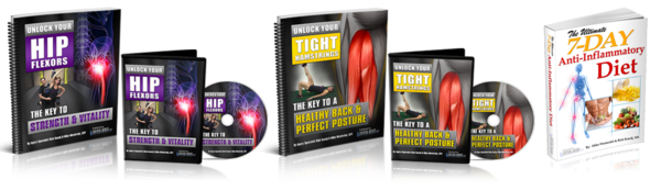 Unlock Your Hip Flexors PDF Complete Package