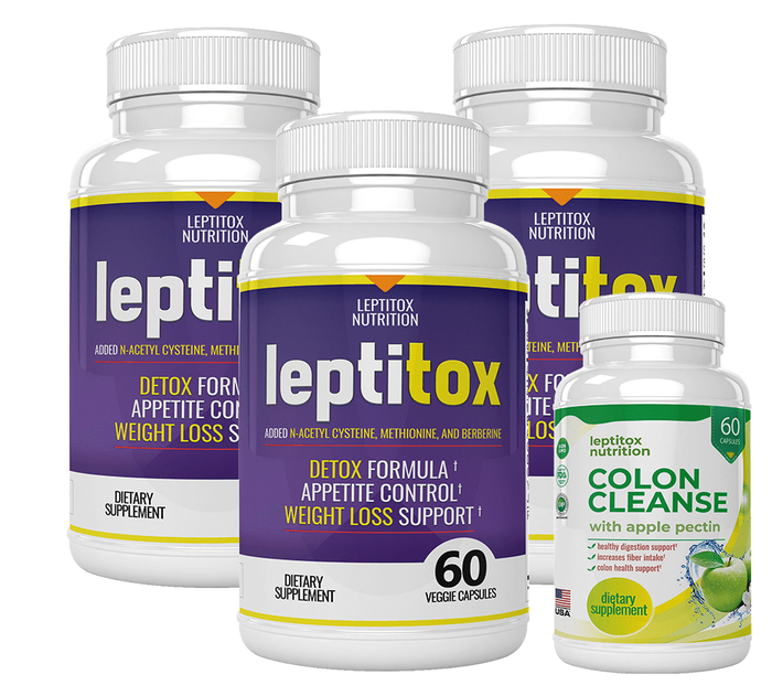 Letitox 3 Bottle Offer Plus Colon Cleanse